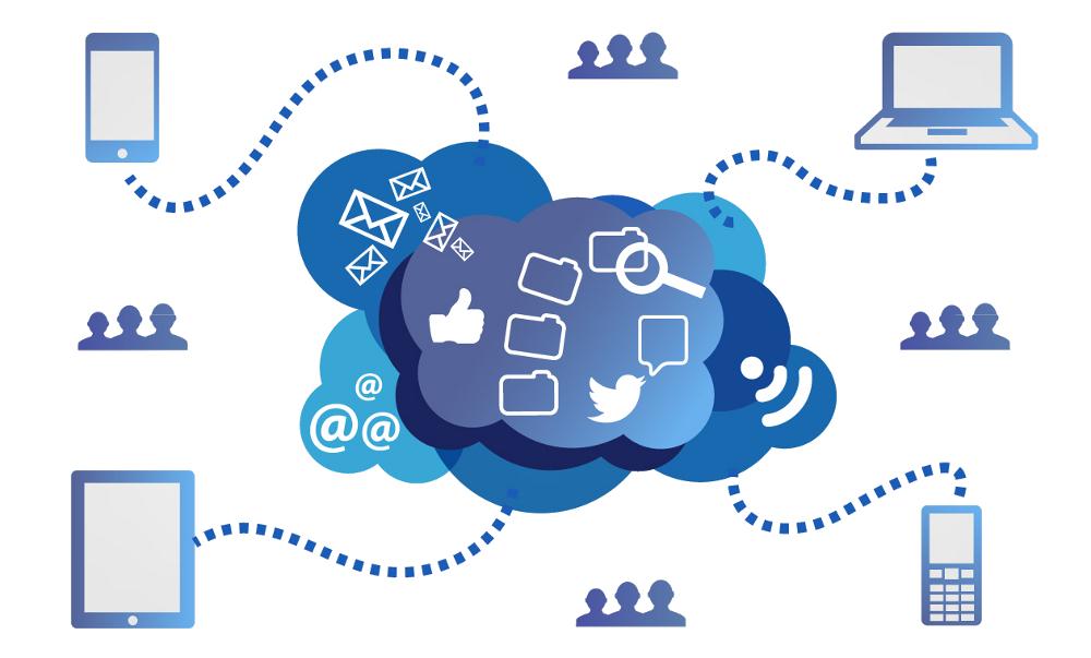 In der Cloud ist alles vernetzt
